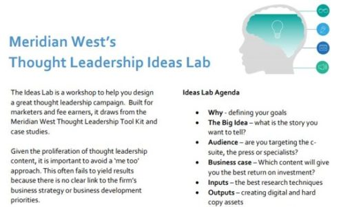 Meridian West's Ideas Lab