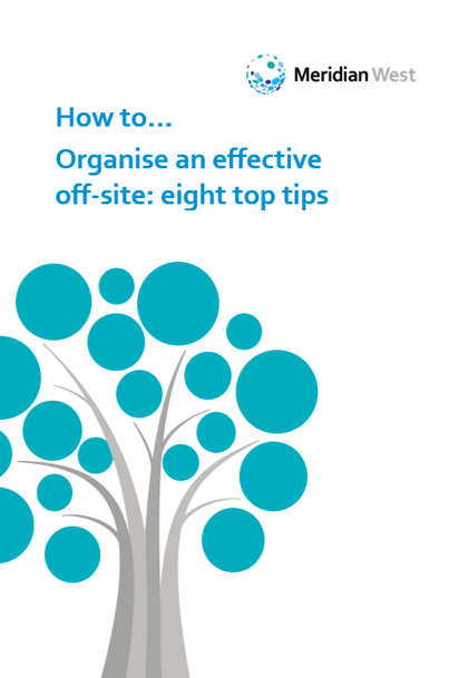 Organising off-sites for professional services firms