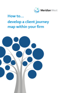 Client journey map